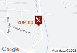 Zum Edi - Karte