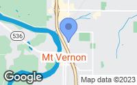 Map of Mount Vernon, WA