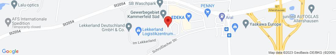 BayWa Tankstelle Allershausen Anfahrt