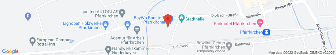 BayWa Haustechnik GmbH Pfarrkirchen Anfahrt