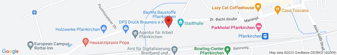 BayWa Haustechnik Pfarrkirchen Anfahrt