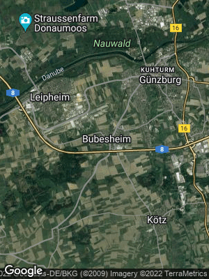 Google Map of Bubesheim