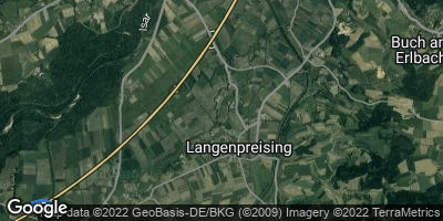 Google Map of Langenpreising