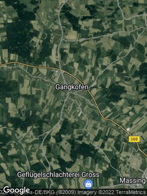 Google Map of Gangkofen