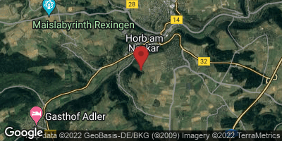 Google Map of Horb am Neckar