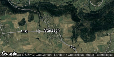 Google Map of Starzach