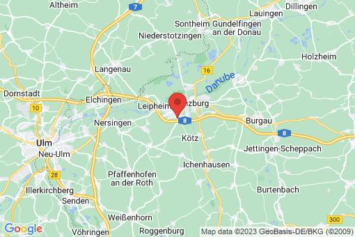 Karte Bubesheim