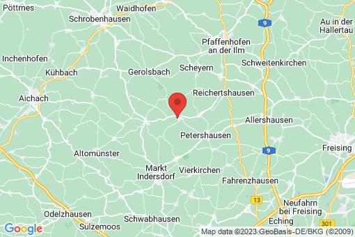 Karte Jetzendorf