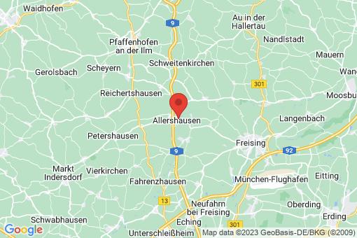 Karte Allershausen
