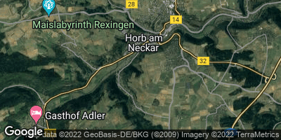 Google Map of Horb