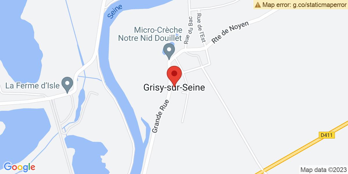 Localisation du projet 'Charles Dickens, lu par la compagnie « Comment-dire », à Grisy-sur-Seine'