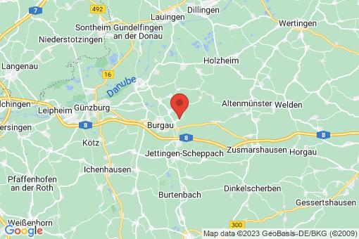 Karte Haldenwang