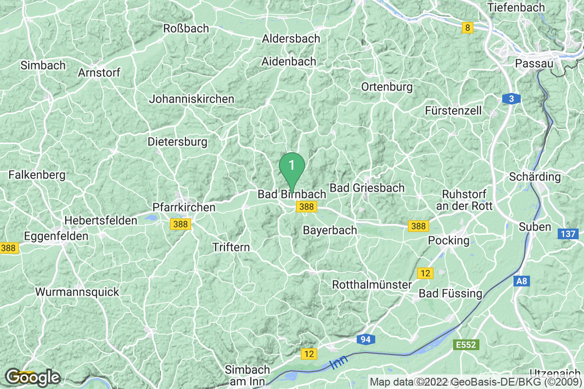 Google Map of Bad Birnbach