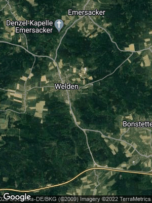 Google Map of Welden bei Augsburg