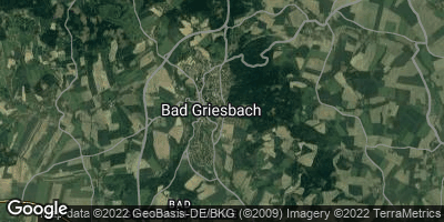 Google Map of Bad Griesbach im Rottal