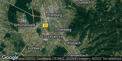 Google Map of Ortenberg