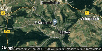 Google Map of Dornstetten