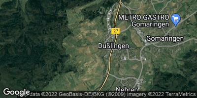 Google Map of Dußlingen