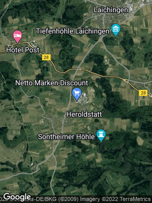 Google Map of Heroldstatt