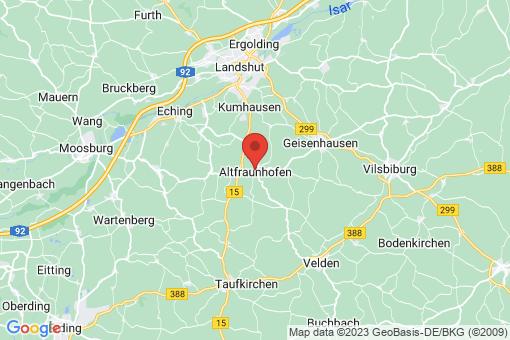 Karte Altfraunhofen
