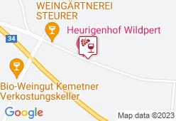 Heuriger Schreiberhaus, Wildpert Rosina - Karte