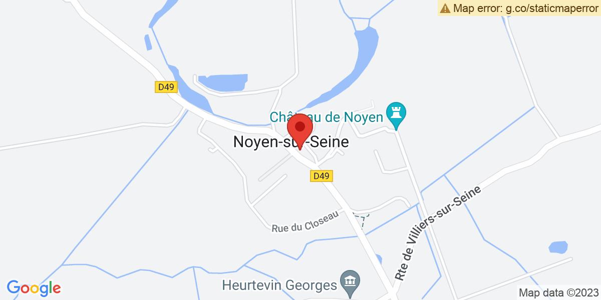 Localisation du projet 'Dossier : Le méthaniseur BASSEE BIOGAZ de NOYEN-SUR-SEINE'