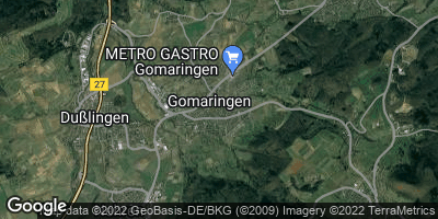 Google Map of Gomaringen