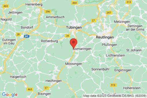 Karte Dußlingen