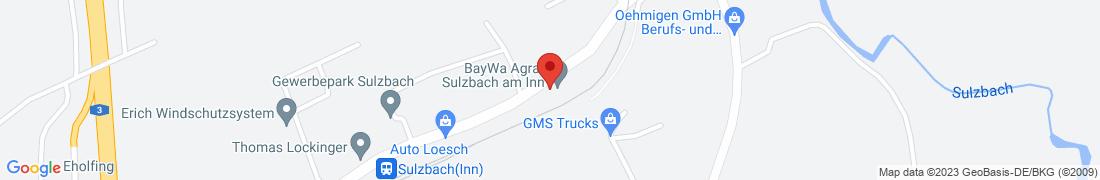 BayWa Agrar Sulzbach am Inn Anfahrt