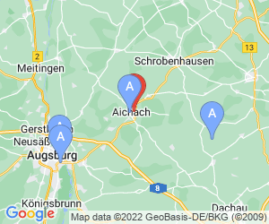 Karte für Hallenbad Aichach