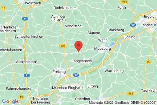 Karte Haag an der Amper