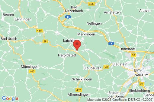 Karte Laichingen Suppingen