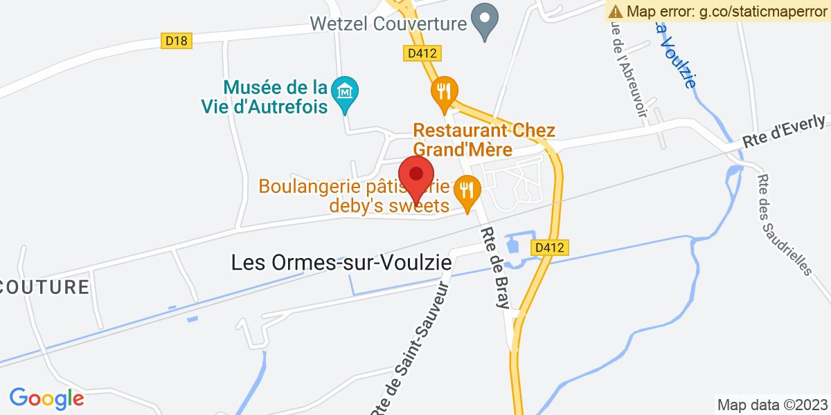Localisation du projet 'EXTENSION DE LA MAISON DE RETRAITE'