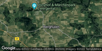 Google Map of Berghülen