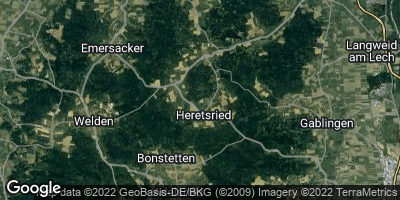 Google Map of Heretsried