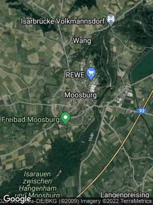Google Map of Moosburg an der Isar