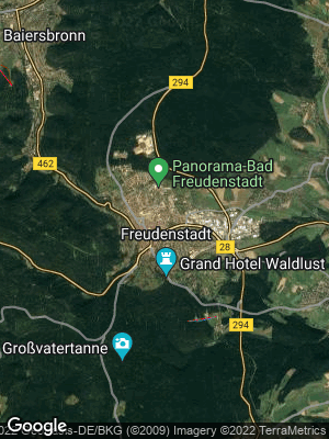 Google Map of Freudenstadt
