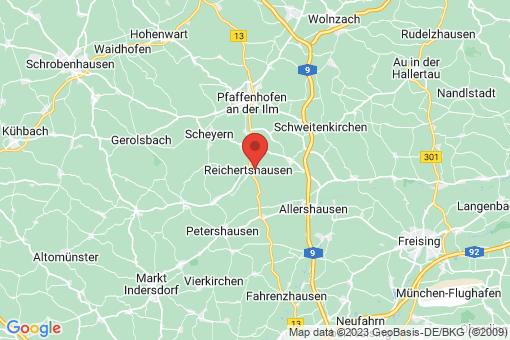 Karte Reichertshausen