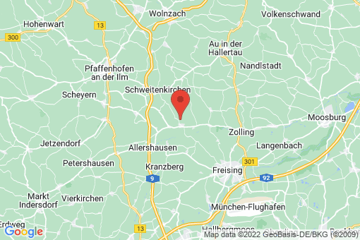Karte Kirchdorf an der Amper
