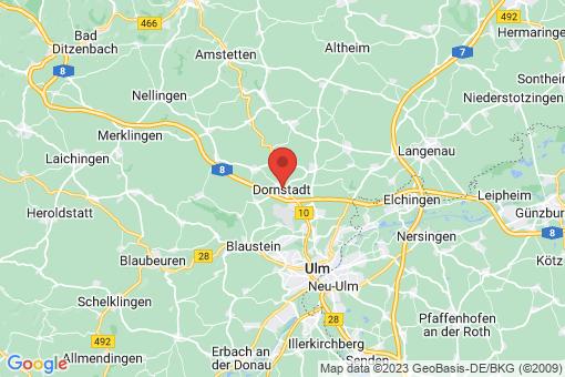 Karte Dornstadt