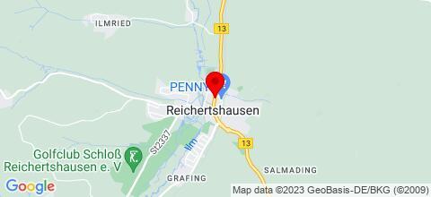 Google Map für Gasthof Pension Fuchs