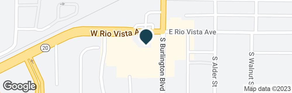 Google Map of623 S BURLINGTON BLVD