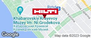 Get directions to Региональный представитель Hilti в г. Хабаровск