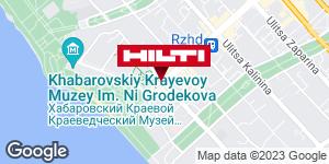 Зона самовывоза на складе Hilti в г. Хабаровск