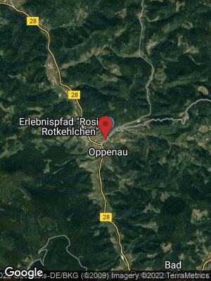Google Map of Oppenau