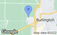 Map of Burlington, WA