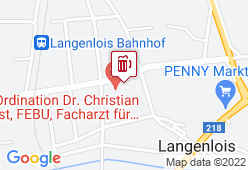 Café-Pub Haindorf - Karte