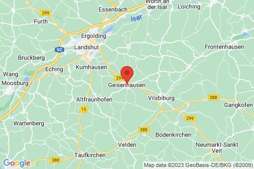 Karte Geisenhausen