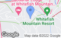 Map of Whitefish, MT