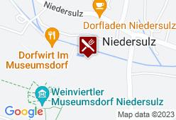 Altes Jägerhaus im Museumsdorf Niedersulz - Karte